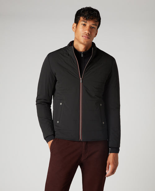 Remus Uomo Balvin Casual Jacket - Black