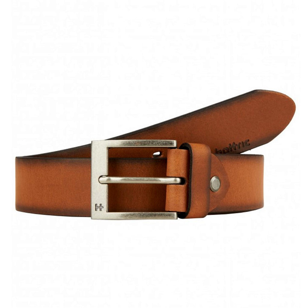 Hattric 35mm Leather Belt - Tan