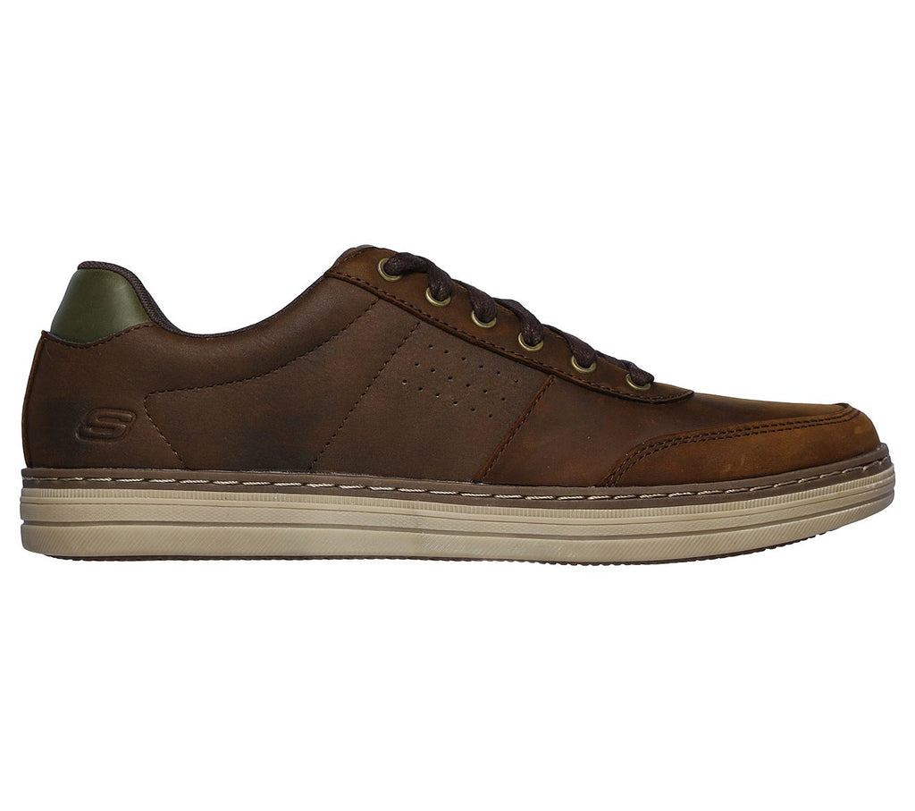 Skechers Heston - Avano Casual Shoe - Brown