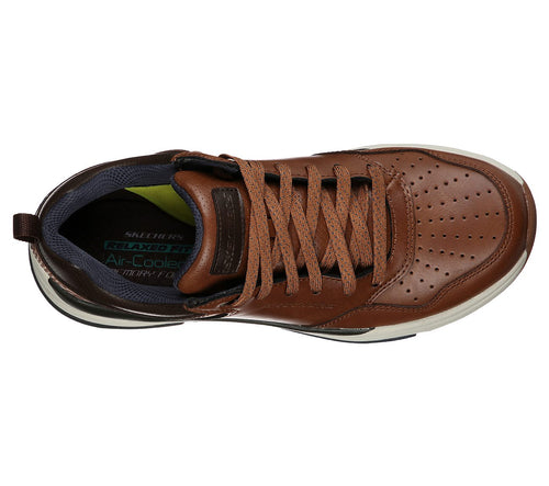 Skechers Benago - Treno Relaxed Fit Shoe - Brown