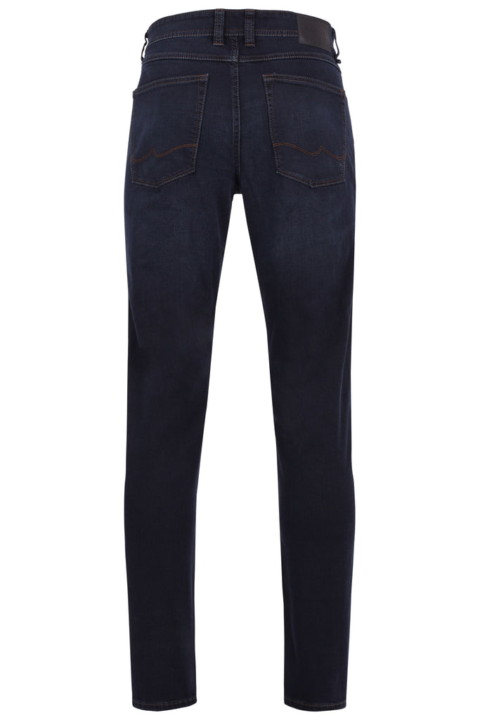 Hattric Regular Fit Blue/Black Jean
