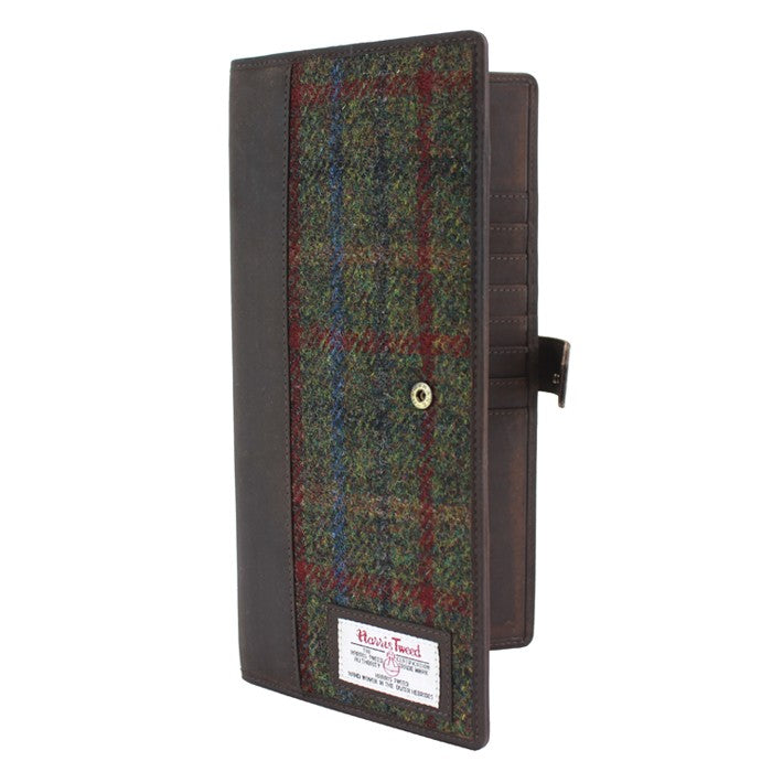 British Bag Company Breanais Harris Tweed Travel Documents Wallet