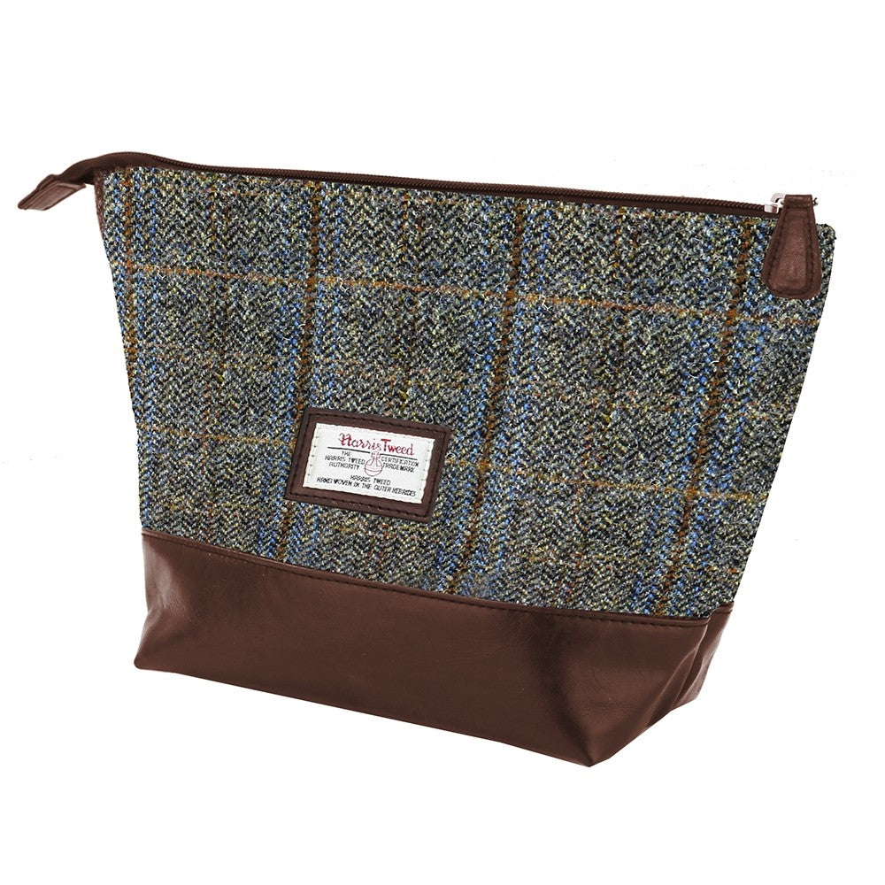 British Bag Company Carloway Harris Tweed Washbag