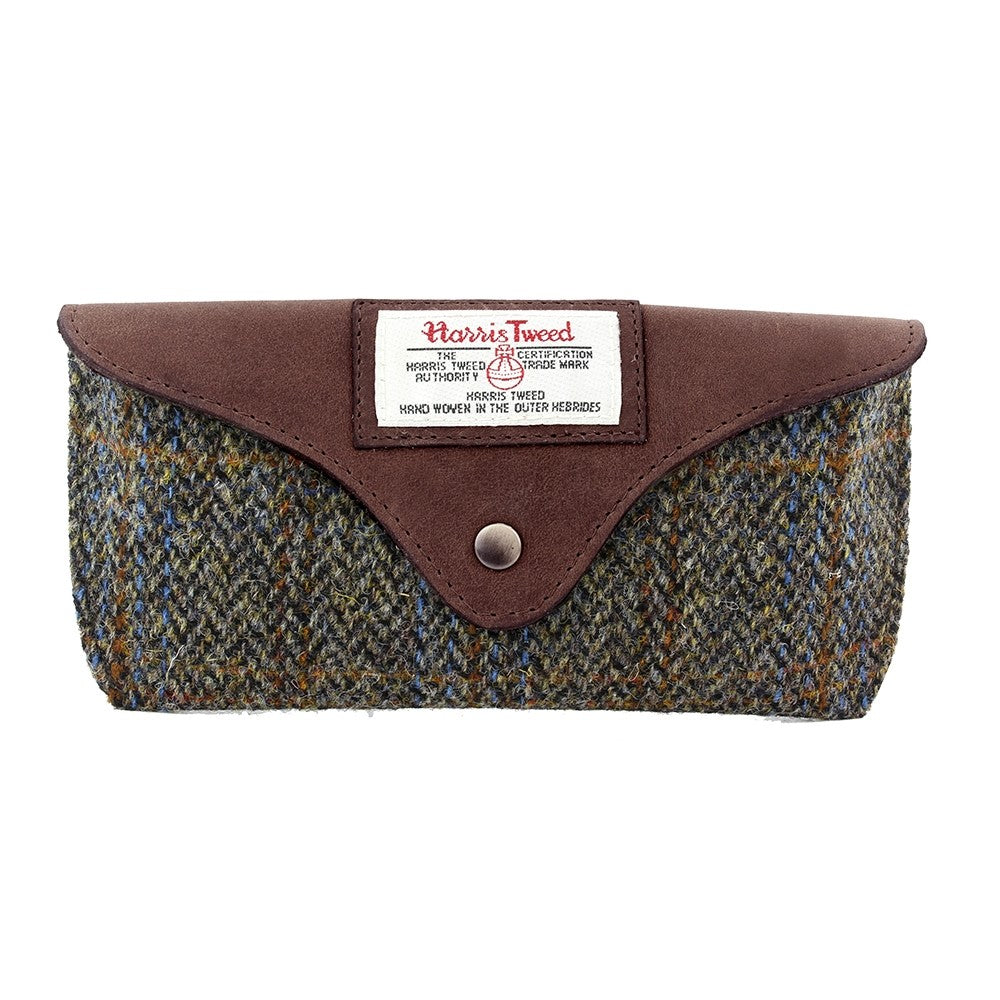 British Bag Company Carloway Harris Tweed Glasses Case