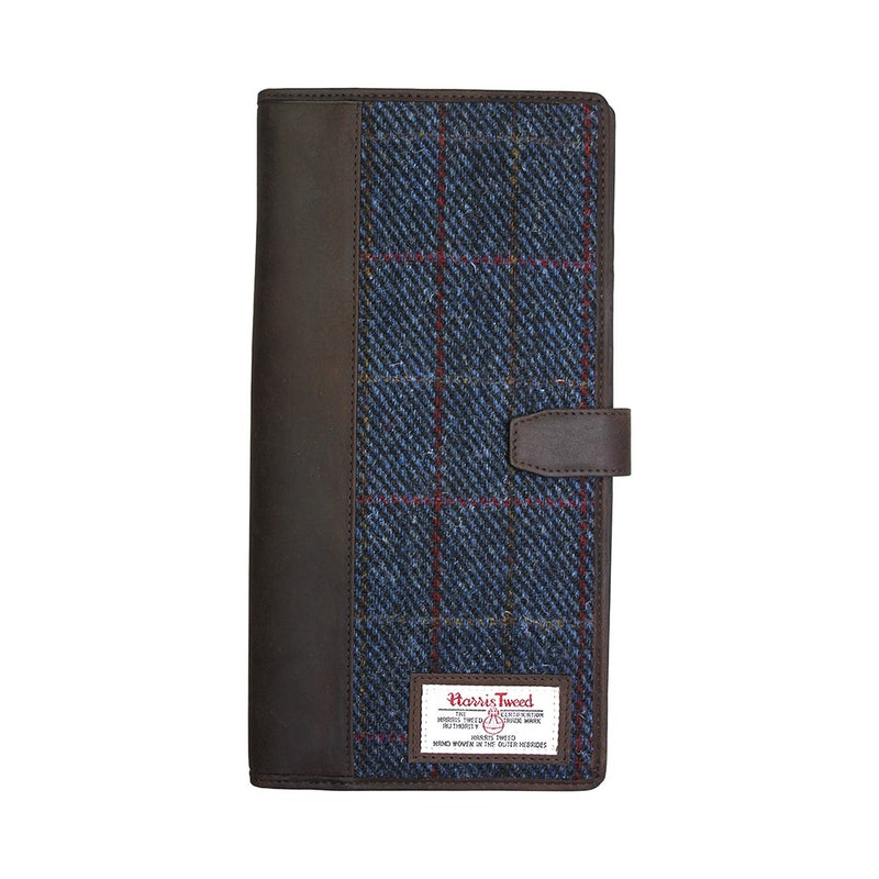 British Bag Company Allasdale Harris Tweed Travel Documents Wallet