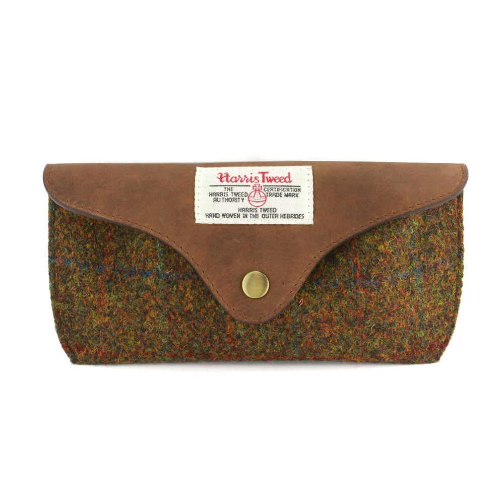 British Bag Company Stornoway Harris Tweed Glasses Case