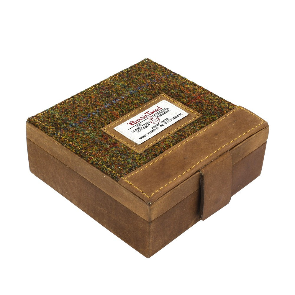 British Bag Company Stornoway Harris Tweed Cufflink/Watch Box