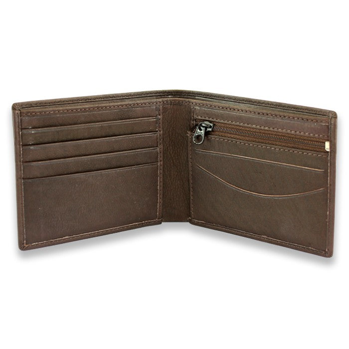 Sophos Brown Leather Wallet