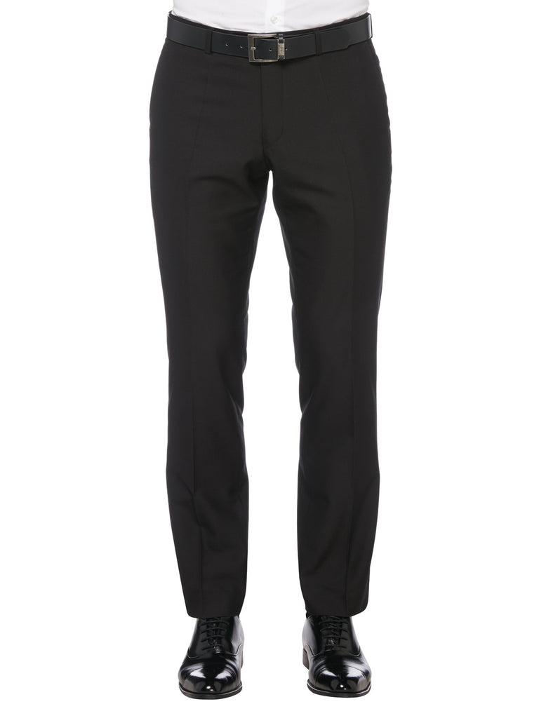 Remus Uomo Tapered Fit Trouser - Black