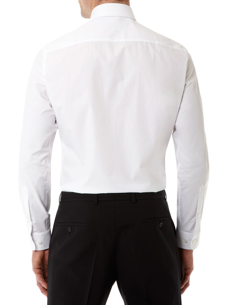 Remus Uomo Tapered Fit White Shirt