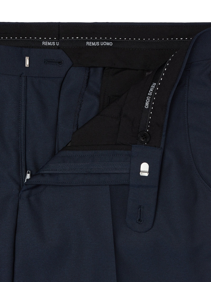 Remus Uomo Tapered Fit Trouser - French Navy