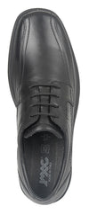 Imac Black Leather Comfort Shoe