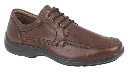 IMAC Brown Laced Casual Shoe
