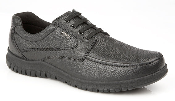 IMAC Black Grain Leather Casual Shoe