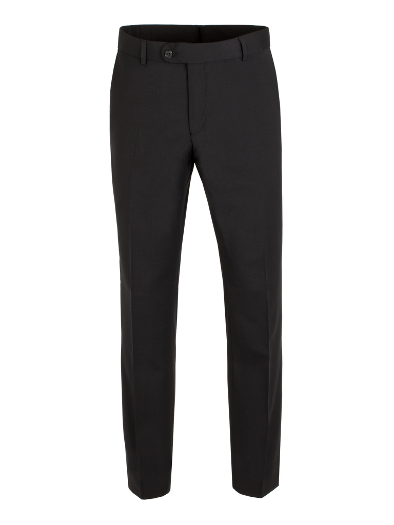 Scott Classic Fit Mix & Match Suit - Black Wool Blend Trouser
