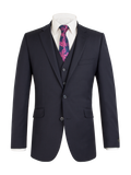 Scott Slim Fit Mix & Match Suit - Navy Wool Blend Jacket