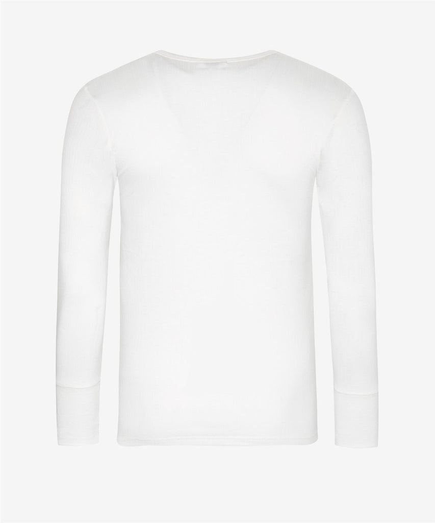 Wolsey Thermal Long Sleeve Shirt 2 Pack Natural