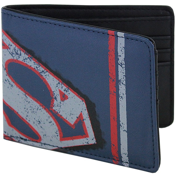 Superman Navy Wallet