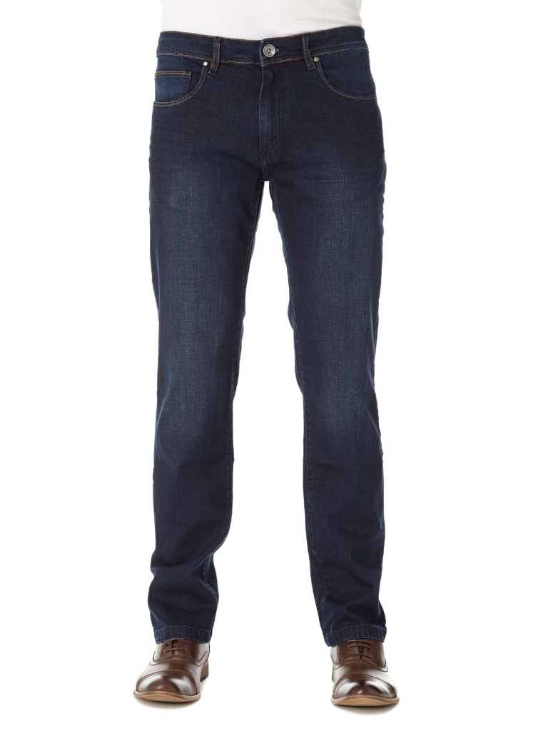 Remus Uomo Regular Fit Dark Stonewash Jean