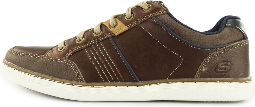 Skechers Lanson - Rometo Relaxed Fit Casual Shoe - Brown