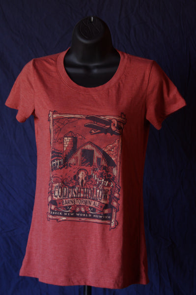 Codfish Hollow/ Jubeck New World Brewing Barnstormin' Ale T-shirt