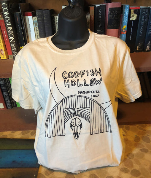 Codfish Hollow Barn and Skull T-shirt