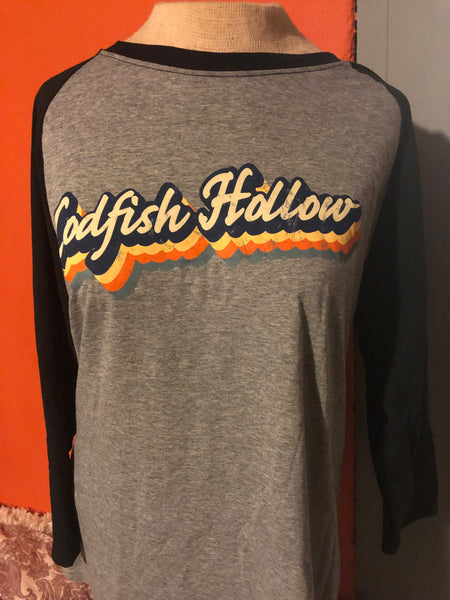 Codfish Hollow Baseball shirt
