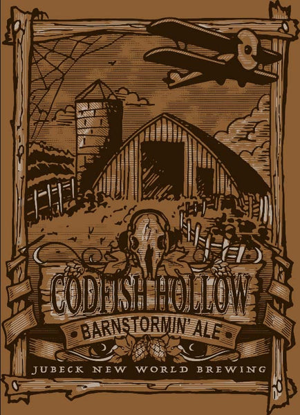 Codfish Hollow Barnstormin' Ale Poster