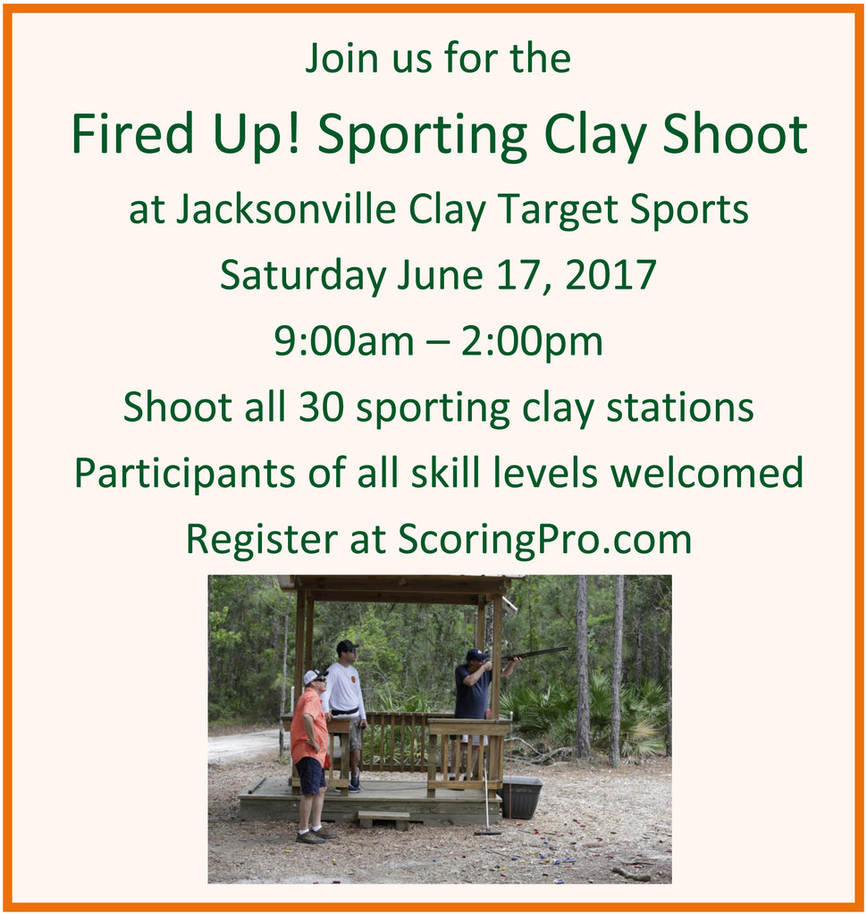 June 17 Fired Up! Sporting Clay Shoot