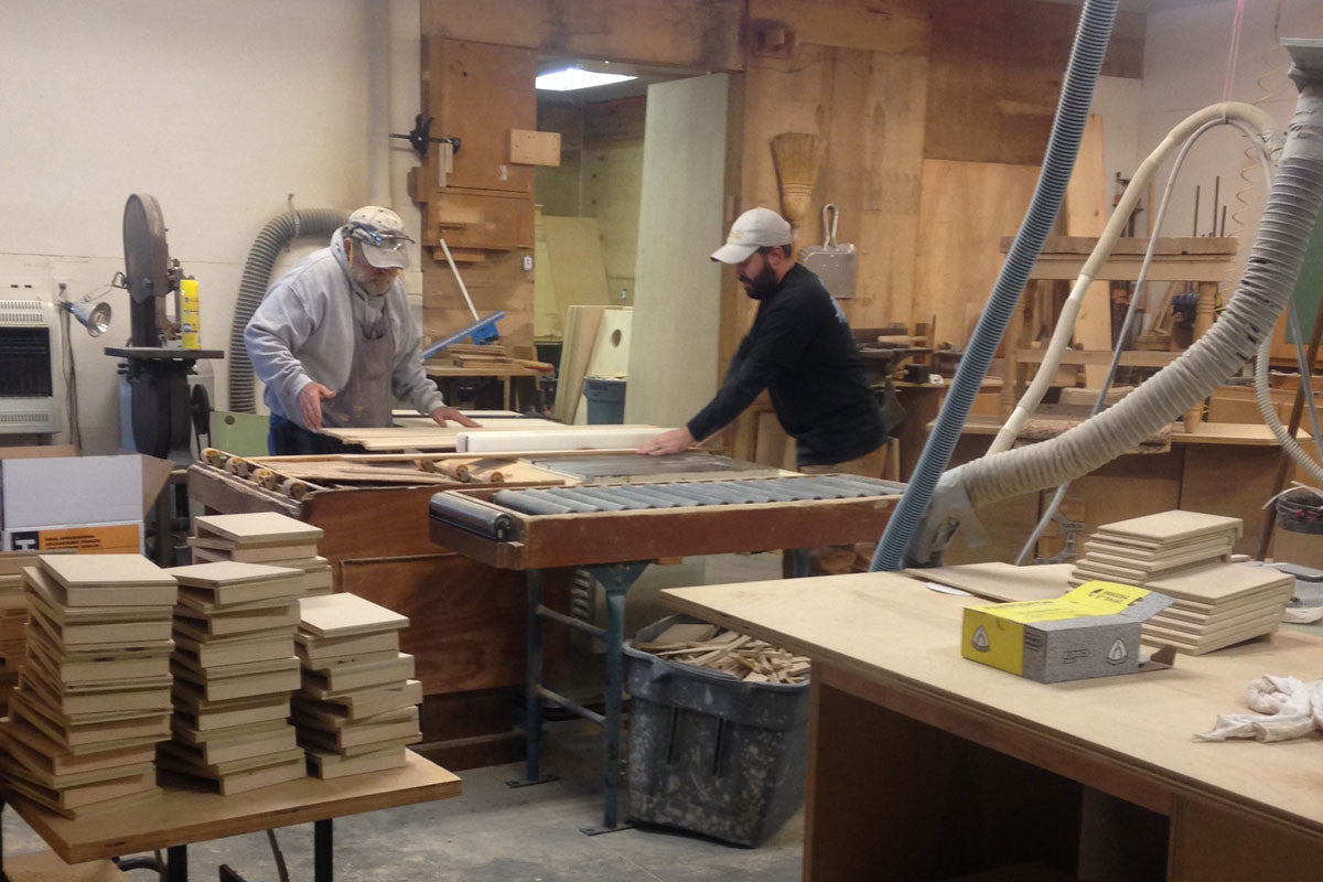 Coinhole Boards Are Made By Hand in the USA
