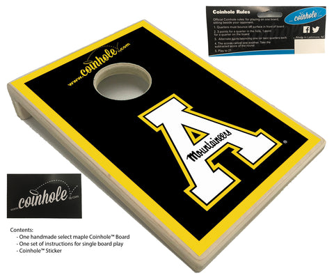 Appalachian State University Coinhole™ Board