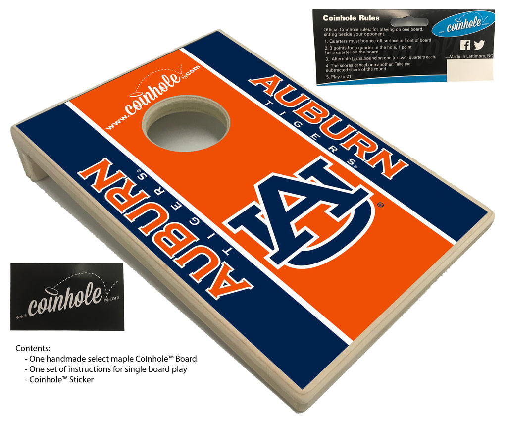Auburn University Coinhole™ Board