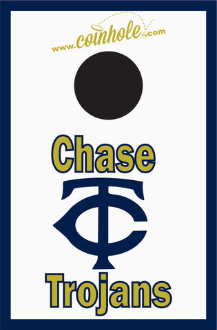 Chase High School Coinhole™ Board