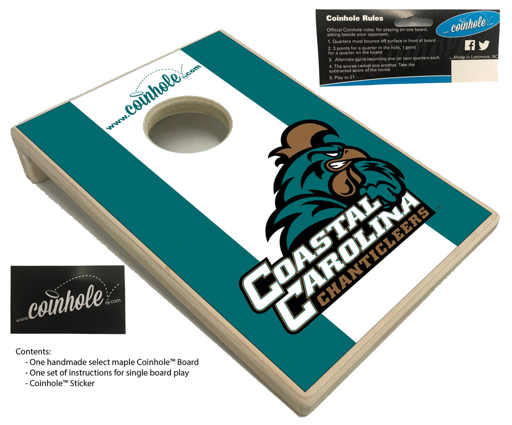 Coastal Carolina University Coinhole™ Board