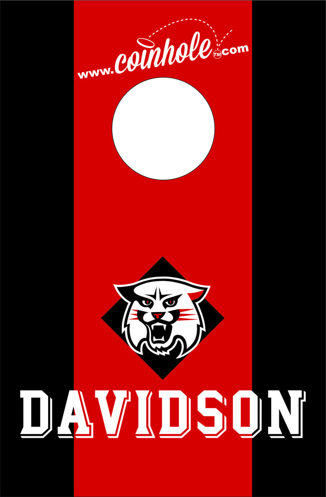 Davidson College Coinhole™ Board - Officially Licensed