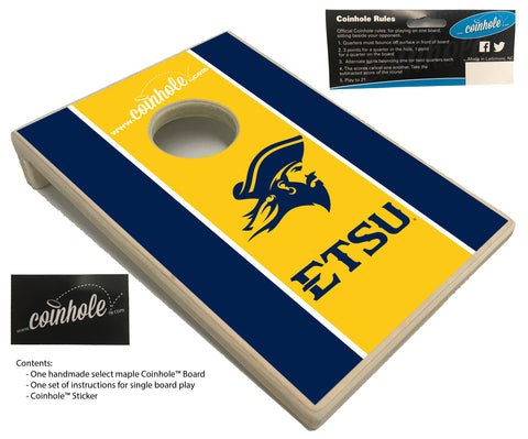 East Tennessee State University Coinhole™ Board