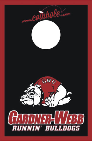 Gardner-Webb University Coinhole™ Board - Officially Licensed