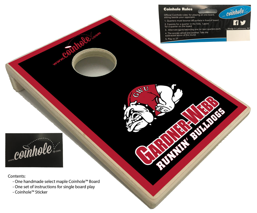 Gardner-Webb University Coinhole™ Board