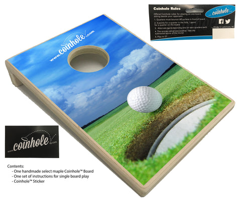 Golf Coinhole™ Board
