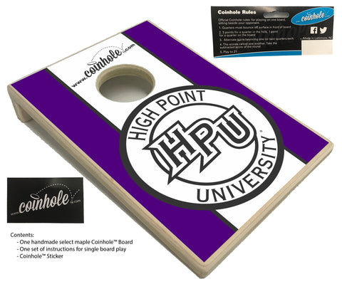 High Point University Coinhole™ Board