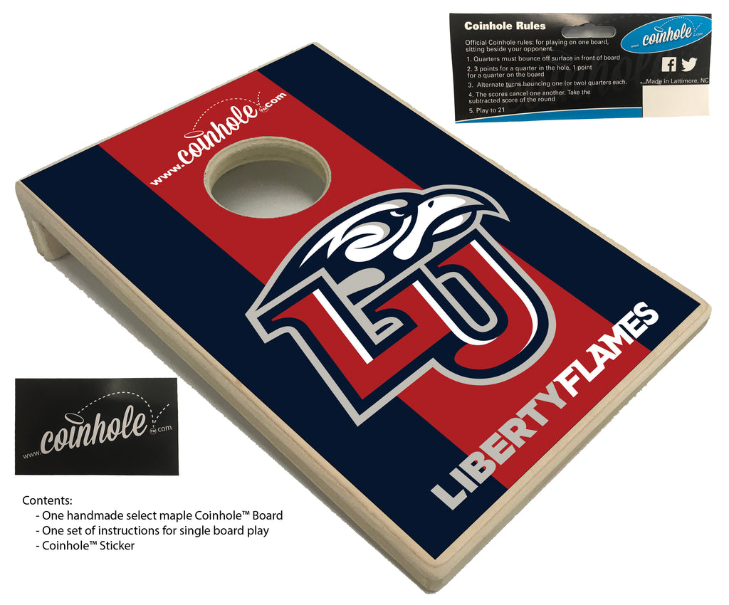 Liberty University Coinhole™ Board