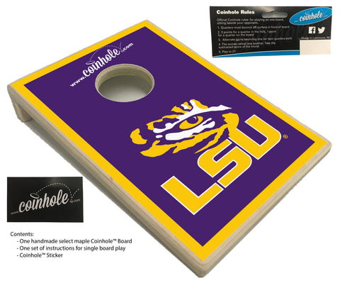 Louisiana State University Coinhole™ Board