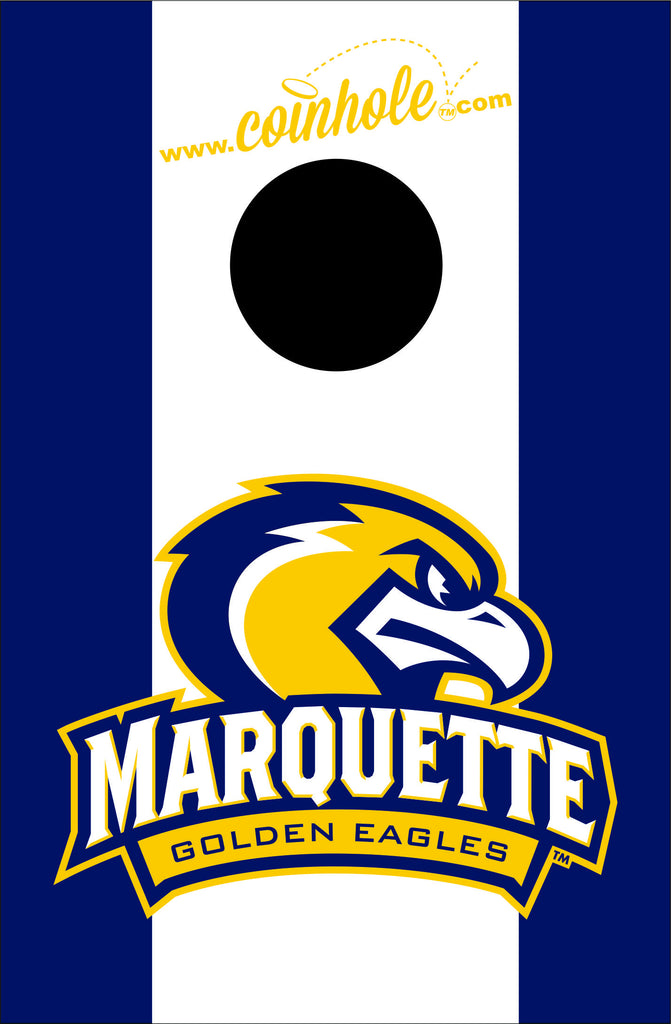Marquette University Coinhole™ Boards - Officially Licensed