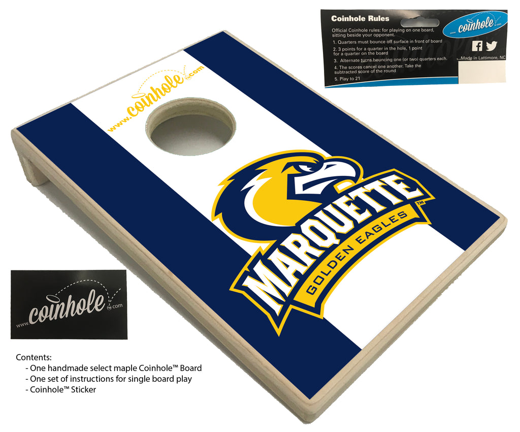 Marquette University Coinhole™ Board
