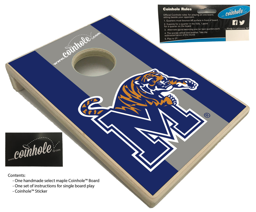 University of Memphis Coinhole™ Board