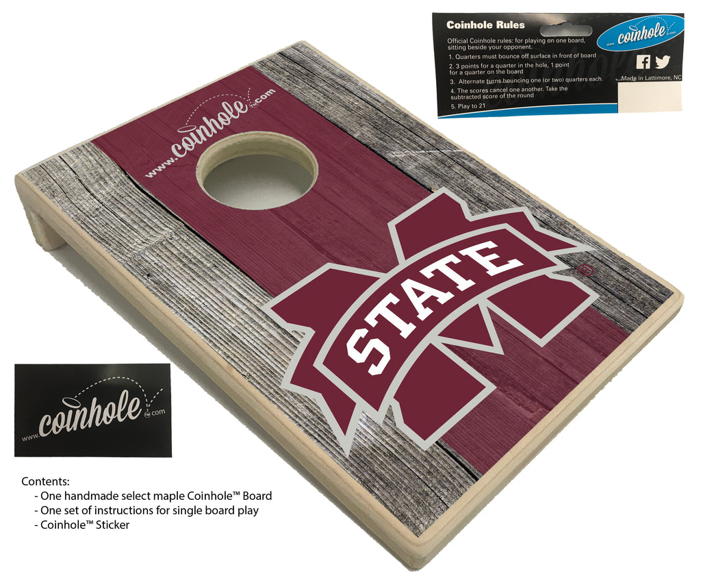 Mississippi State University Coinhole™ Board