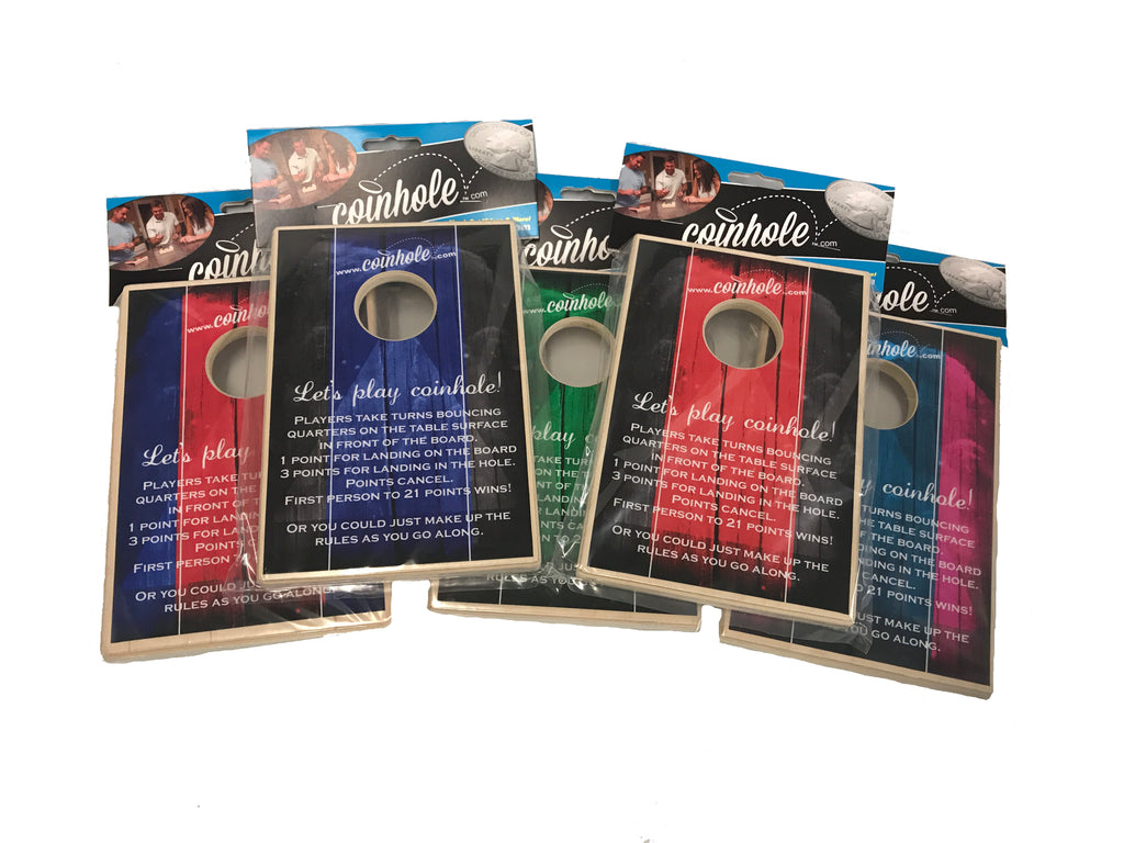 Official Coinhole™ Combo Set - Buy 5 Get one set of coins and a Bag for FREE!!!
