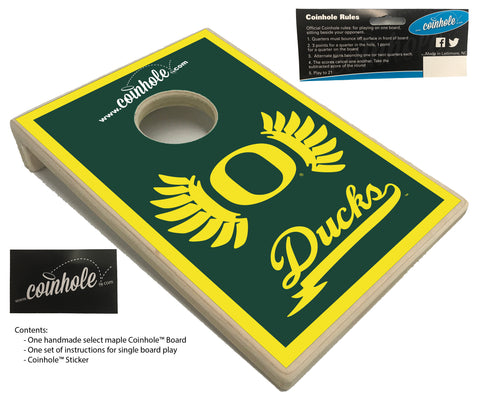 University of Oregon Coinhole™ Board