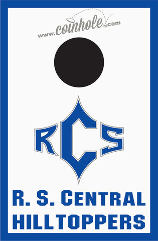 R.S. Central High School Coinhole™ Board
