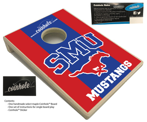 Southern Methodist University Coinhole™ Board